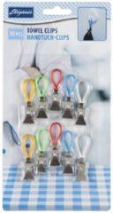 Handdoekhaakje -queen clip uit kunststof maakt je doeken niet kapot