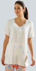 Gebroken-witte Blouse Alba Moda Offwhite