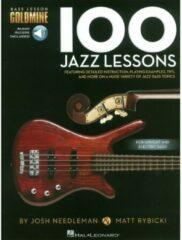 Hal Leonard - Bass Lesson Goldmine: 100 Jazz Lessons