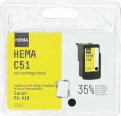 HEMA C51 Vervangt Canon PG-510