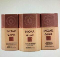 Inoar/Ghair Inoar G Hair 3x250ml Original braziliaanse keratine behandeling treatment