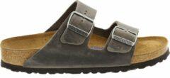Birkenstock Slippers - Maat 36 - Unisex - donkergrijs