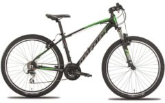 Montana Bike 27,5 Zoll Mountainbike Montana Urano 21... schwarz-grün, 48cm