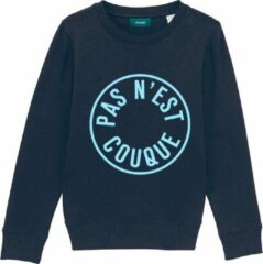 Cheaque PAS NEST COUQUE DONKERBLAUW KIDS SWEATER