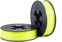 Gele ABS 1,75mm yellow fluor 0,75kg - 3D Filament Supplies