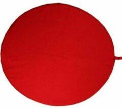 Yogi & Yogini Meditatiemat hoes rood rond - 80 cm