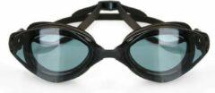 Professionele zwembril voor Volwassenen Improducts® huismerk - zwart lens zwart