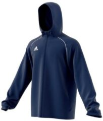 Sportliche Trainingsjacke Core 18 mit hohem Kragen CV3695 adidas performance dark blue/white
