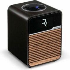 Bruine Ruark Audio R1 MK4 Deluxe Radio met Dab+ en bluetooth - Espresso