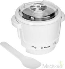 Witte Bosch MUZ4EB1 ijsmaker accessoire - Voor MUM4 keukenmachines - Wit