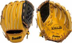 Franklin Sporthandschoenen - Unisex - lichtbruin Maat: R 9-10 jaar