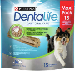Purina Dentalife Daily Oral Care - Hondensnacks - 345 g 15 stuks Multipack Medium