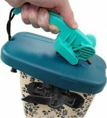 Blauwe Weltitop Wellitop Laarzendeksel voor op de Bovenkant van uw Laars – 22x12x10cm | Afsluiter voor Schoen | Drager voor Kaplaarzen