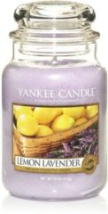 Paarse Yankee Candle Lemon Lavender - Large Jar