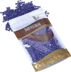 MEGA BEAUTY SHOP® Wax beans 100gr. Lavendel- Hard wax beans- Hard wax beans- Ontharingswax- Harskorrels- Harde hars- Ontharingshars- Harsen- Waxen- Hars parels
