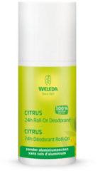 Weleda natuurcosmetica Weleda Citrus 24h Roll-On Deodorant - 50 ml - Natuurlijk