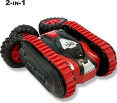 Gear2play tank RC Duo Transformer junior 1:16 rood/zwart
