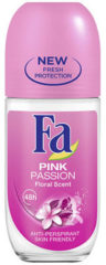 Fa Deodorant Roller Pink Passion 6-pack (6x50ml)