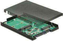 DeLOCK 2.5″ Converter SATA 22 pin > 1 x M.2 key B + 1 x m