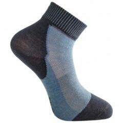 Woolpower - Socks Skilled Liner Short - Multifunctionele sokken maat 36-39, zwart/grijs