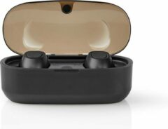 Nedis HPBT5052BK Volledig Draadloze Bluetooth®-oordopjes 5 Uur Afspeeltijd Spraakbediening Draadloos Oplaadbare Charging Case
