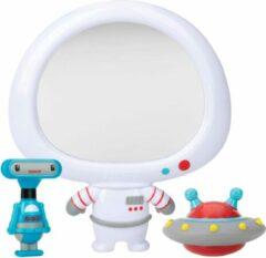 Grijze Nûby - Badspeelgoed - Astronaut spiegelset - 12m+