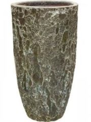 Baq Design Lava Relic Jade partner hoge bloempot 55x105 cm