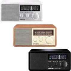 Sangean WR11 Highend Retrodesign- Radio versch. Ausführungen Farbe: Schwarz