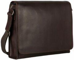 Bruine Leonhard Heyden Dakota Shoulder Bag L brown Herentas
