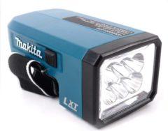 "Blauwe Makita DEADML186 Accu Zaklamp ""Blok"" LED 18v - zonder accu"