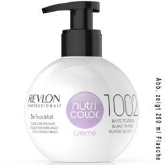 Revlon Professional Haarpflege Nutri Color Creme 1002 Platinweiss 50 ml