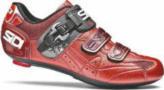 Sidi Genius 5.5 - Racefietsschoenen - Rood/Oranje - Carbon Composite Zool - Maat 43.5