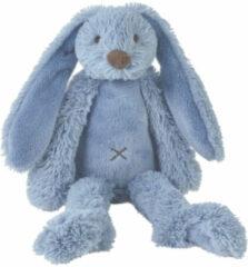 Happy Horse Knuffel konijn Rabbit Richie deep blue 38 cm - Maat Eén