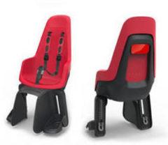 Rode Bobike Fietsstoeltje Duo Maxi One - Fietsstoeltje Achter - Strawberry Red