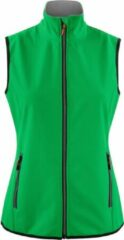 Printer Essentials Printer Softshell Bodywarmer Vest Trial Lady 2261060 Frisgroen - Maat S
