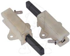 Aeg electrolux Kohlen 12,5x5x30mm, kpl. 6,3AMP weiß (mit 6,3 mm Anschlussfahne (AMP)) für Waschmaschinen 50681742008