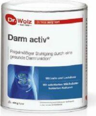 Dr. Wolz Darm Activ | Regelmatige Stoelgang supplement | gezonde darm 400gr poeder met Inulin en melkzuurbacterien
