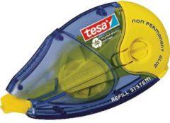 Tesa Lijmroller Ecologo 8,4mm x 14m Geel, blauw Niet Permanent