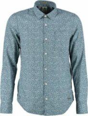 Blauwe Garcia Kleiner vallend - Heren Overhemd Maat S