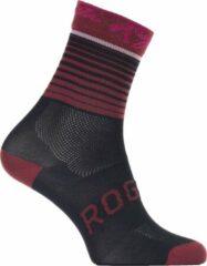 Bordeauxrode Rogelli Ds Wielersok Impress Bordeaux/Roze 40-43