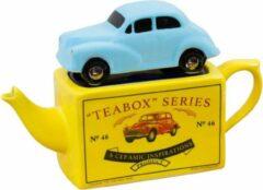 Blauwe Tea Pottery Ceramics Tea Pottery Matchbox Car MM Blue One Cup Teapot