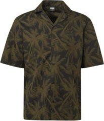 Groene Urban Classics overhemd Zwart-m