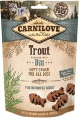 Carnilove soft snack forel / dille