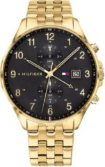 Tommy Hilfiger TH1791708 Horloge West staal goudkleurig-zwart 44 mm