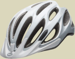 Bell Traverse Fahrradhelm Kopfumfang XL 56-63 cm white/silver