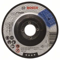 Doorslijpschijf gebogen Expert for Metal A 30 S BF, 115 mm, 2,5 mm Bosch Accessories 2608600005 Diameter 115 mm 1 stuks