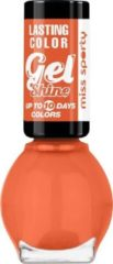 Oranje Miss Sporty Lasting Colour Nailpolish Gel shine - 555 - Gelnagellak