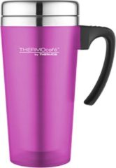 Paarse Thermos Soft Touch Travel Mug Purple 420ML