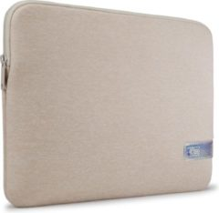 Creme witte Case Logic Reflect MacBook Pro Sleeve 13 inch - Concrete