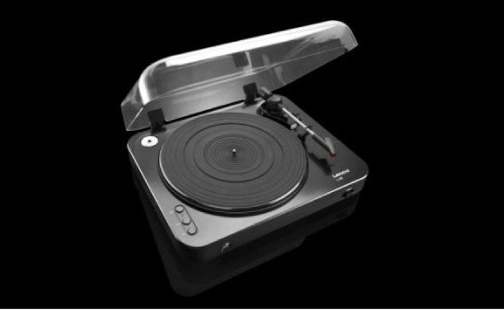 Afbeelding van Lenco L-85 | Platenspeler met auto return en directe MP3 codering | Zwart